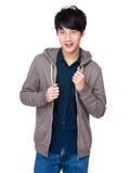 Modèle d'image d'adolescent asiatique