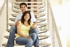 Verticale asiatique de couples Photo stock