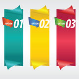 Verticale Banner. Stock Fotografie