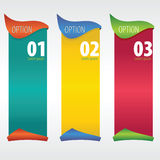 Verticale Banner. Stock Afbeelding