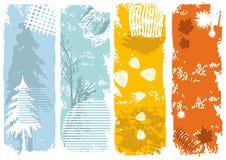 Verticale banners Royalty-vrije Stock Afbeelding