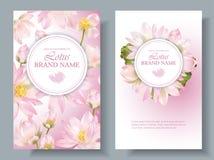 Verticale banners 2 van Lotus Royalty-vrije Stock Afbeelding