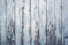 Verticale blauwe oude houten textuur Stock Foto