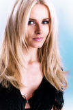 Verticale blonde Image stock