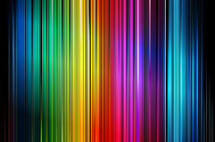 Verticale colorée abstraite barrée. Vecteur Photographie stock
