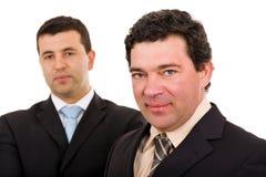 Verticale d'équipe d'affaires Image stock