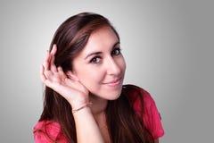 Verticale d'étudiant de sourire Image libre de droits