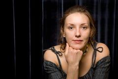 Verticale d'actrice Photographie stock libre de droits