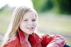 Verticale d'adolescent Photo stock
