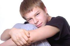 Verticale d'adolescent photo libre de droits