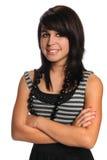 Verticale d'adolescent hispanique Photographie stock libre de droits