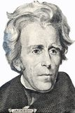 Verticale d'Andrew Jackson Images stock
