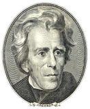Verticale d'Andrew Jackson Photographie stock libre de droits