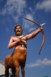 Verticale d'Archer de flotteur de mardi gras Images libres de droits