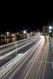 Verticale d'autoroute urbaine images stock