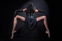 Verticale d'beaux-arts de fille Photo libre de droits