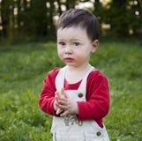 Verticale d'enfant Photo libre de droits