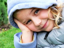 Verticale d'enfant Images stock