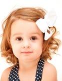 Verticale d'enfant en bas âge Photographie stock libre de droits
