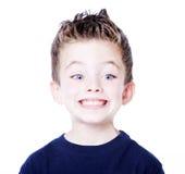 Verticale d'enfant en bas âge Photo libre de droits