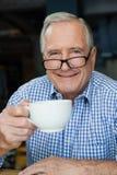 Verticale d'homme aîné de sourire Image libre de droits