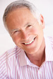 Verticale d'homme aîné heureux Image stock