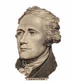 Verticale d'homme d'État, d'inventeur, et de diplomate Benjamin Franklin des États-Unis comme il regarde sur cents faces de bille photos stock