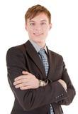 Verticale d'homme d'affaires Photo stock