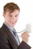 Verticale d'homme d'affaires Photo libre de droits