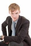 Verticale d'homme d'affaires Photos stock