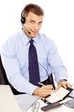 verticale d'homme d'affaires Image stock