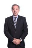 Verticale d'homme d'affaires mûres Image libre de droits