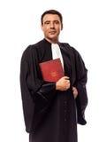 Verticale d'homme d'avocat Photos stock
