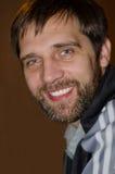 Verticale d'homme de sourire Images libres de droits