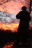 Verticale d'Ulysse S Grant Statue Images stock
