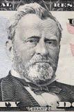 Verticale d'Ulysse S Portrait de Grant sur un billet de vingt dollars Photographie stock libre de droits