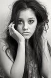 Verticale d'un adolescent Photographie stock libre de droits