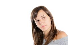Verticale d'un beau brunette photos stock