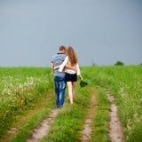 Verticale d'un beau couple Image stock
