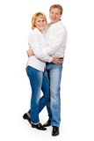 Verticale d'un beau couple Image stock