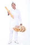 Verticale d'un boulanger Photos libres de droits