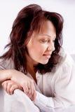 Verticale d'un brunette Image stock