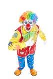 Verticale d'un clown Photos stock