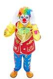Verticale d'un clown Image libre de droits