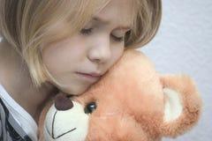 Verticale d'un enfant Image stock