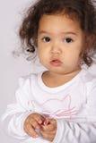 Verticale d'un enfant en bas âge Photographie stock