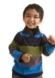 Verticale d'un enfant en bas âge de sourire images libres de droits