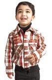 Verticale d'un enfant en bas âge de sourire images stock