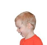 Verticale d'un enfant heureux Photos libres de droits