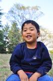 Verticale d'un garçon malais photo libre de droits